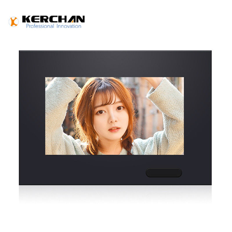 7 Inch Retail LCD Screens LCD Media Player With Motion Sensor
